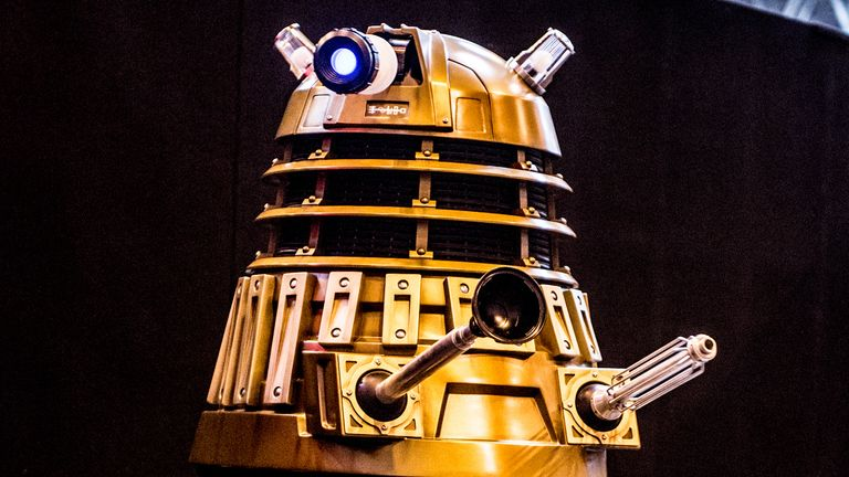 Daleks are popular Doctor Who villains. File pic