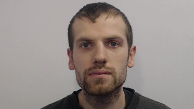 Daniel Shevlin, 27, pleaded guilty to assault. Pic: Greater Manchester Police