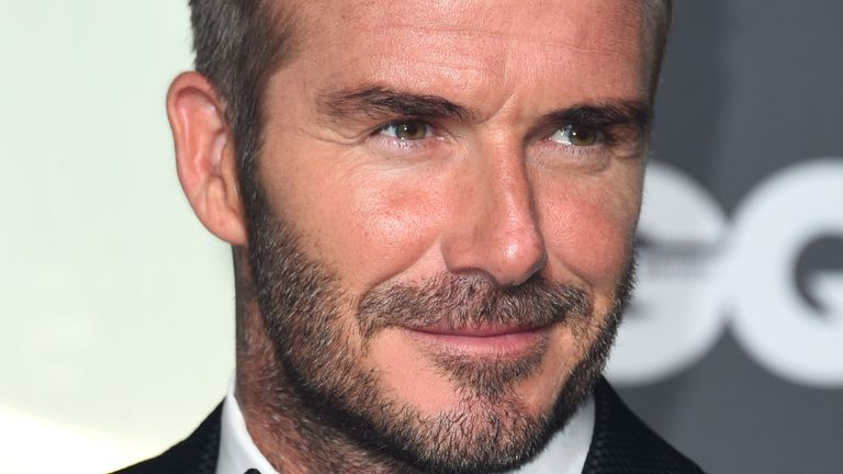 David Beckham has backed a campaign to provide meals for key workers and healthcare staff working on the frontline in the fight against the coronavirus pandemic