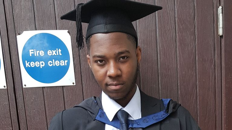 David Gomoh was murdered just days before his father's funeral (Credit: Met Police)