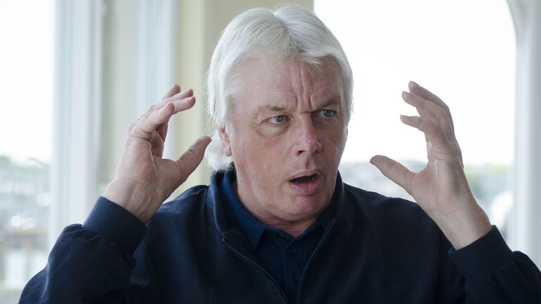 David Icke. Pic: Chris Balcombe/Shutterstock