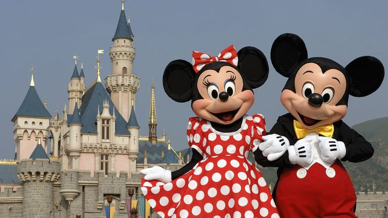 The Walt Disney Company has laid off nearly half it's theme park staff amid coronavirus