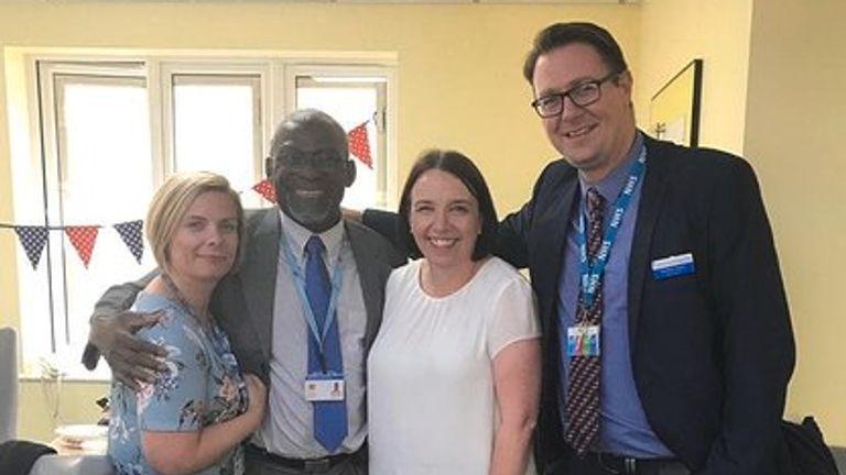 Dr Alfa Saadu was medical director at Princess Alexandra Hospital in Harlow, Essex. Pic: