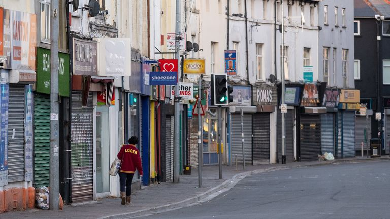 Shops in cities and towns across the UK have been closed since lockdown measures were introduced