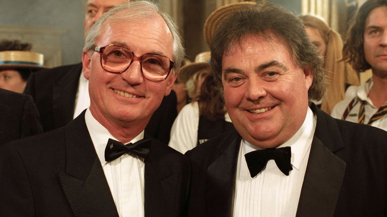 Syd Little and Eddie Large. Pic: ITV/Shutterstock