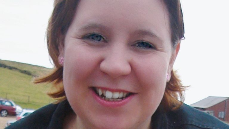 Emma Davis, who has died within three days of her twin sister Katy after both testing positive for Covid-19