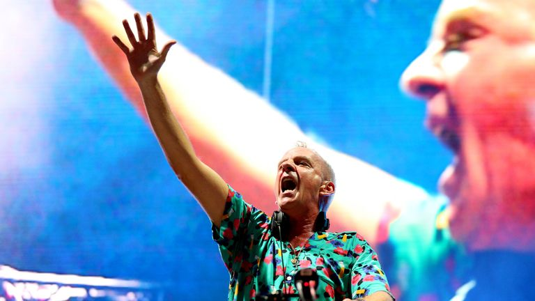 Fatboy Slim fears parties and raves may be banned for a while