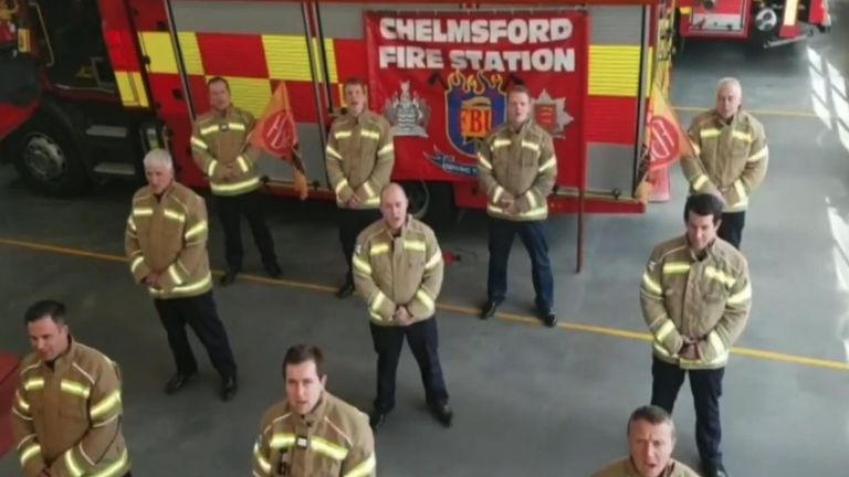 Fire Brigades union send message of solidarity to Italian colleagues