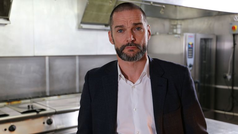 Fred Sirieix in The Restaurant That Burns Off Calories. Pic: BBC/Voltage TV