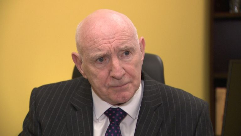 "Dom Maguire, chairman of Anderson Maguire Funeral Directors, said an ""overwhelming majority of funerals"" are now being done online"