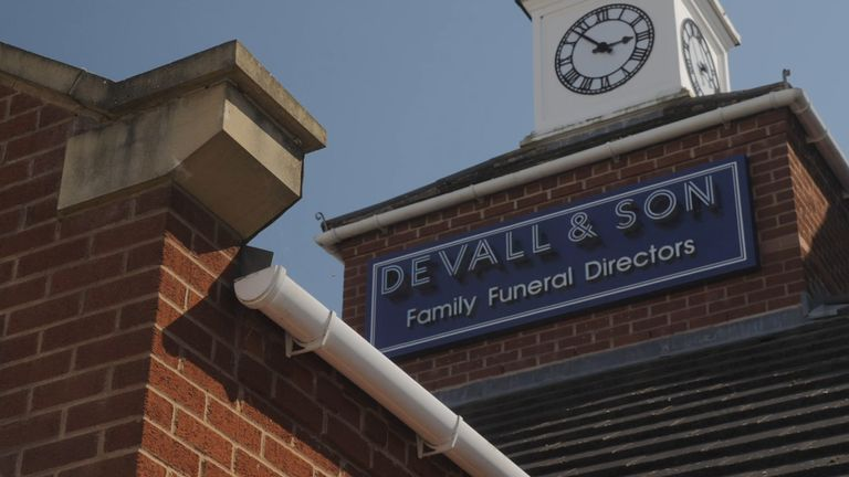 Devall & Son says it has run out of space to store bodies