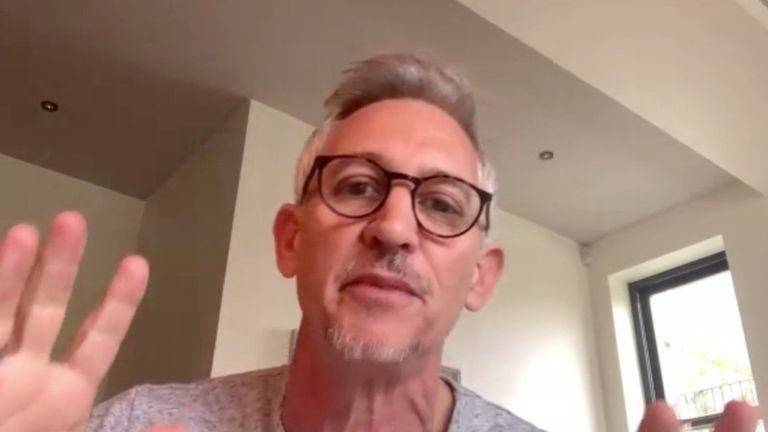 gary lineker defends footballers
