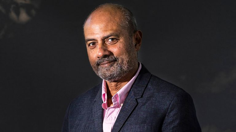 EDINBURGH, SCOTLAND - AUGUST 25: British newsreader, journalist and television news presenter George Alagiah attends a photo call during Edinburgh International Book Festival 2019 on August 25, 2019 in Edinburgh, Scotland. (Photo by Simone Padovani/Awakening/Getty Images)
