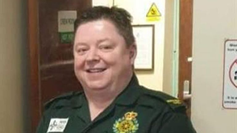 Gerallt Davies was a paramedic in Swansea for 26 years