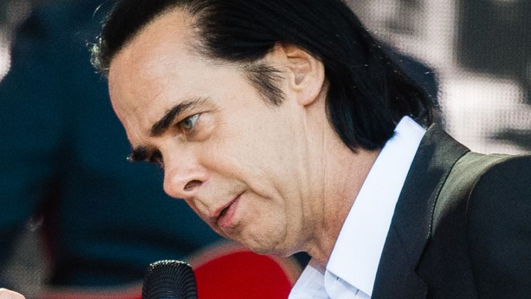 Nick Cave and Kylie Minogue at Glastonbury 2019