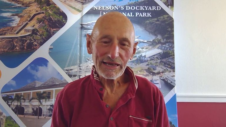 Graham Walters is the oldest person to row solo across the Atlantic