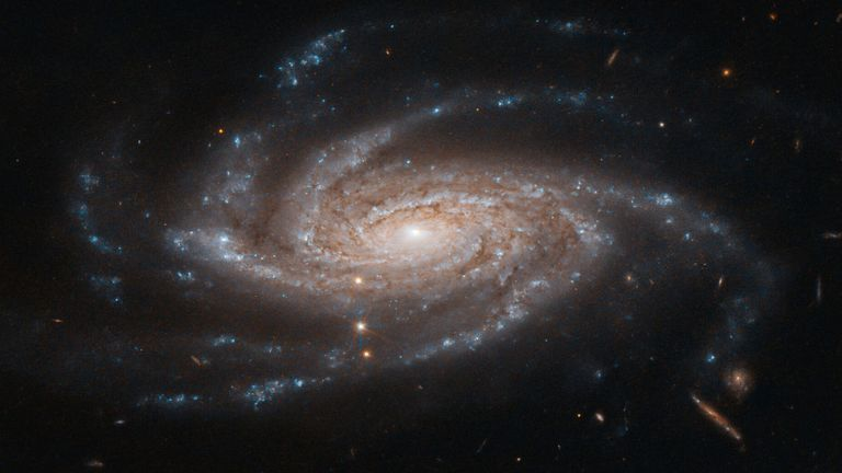 The spiral galaxy NGC 2008 captured by the Hubble Space Telescope. Pic: NASA