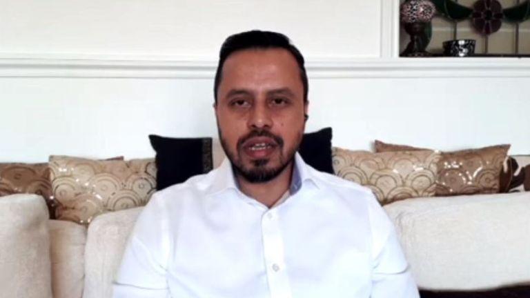 Harun Khan,secretary general of the Muslim Council of Britain