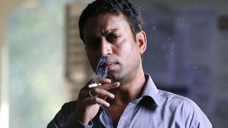 Irrfan Khan in Slumdog Millionaire. Pic: Celador Films/Pathe International/Kobal/Shutterstock