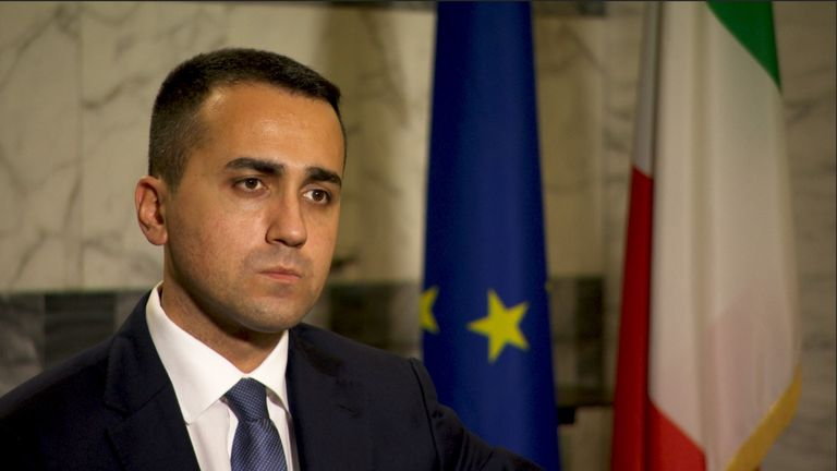 Luigi di Maio says Italy can only return to normal 'once we have discovered a vaccine'