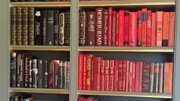 J K Rowling book collection