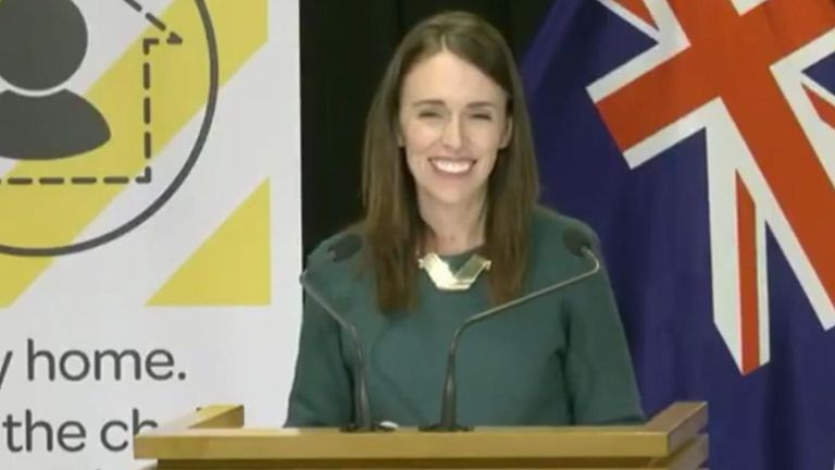 New Zealand prime minister Jacinda Ardern deems the Easter Bunny and Tooth Fairy 'essential services'