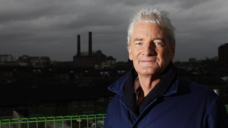 James Dyson says his company has spent £20m on the project