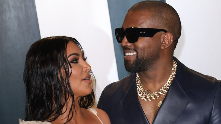 Kanye West is married to the reality TV star Kim Kardashian
