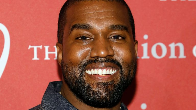Kanye West's sneaker line alone has been valued $1.26bn (£1.02bn)