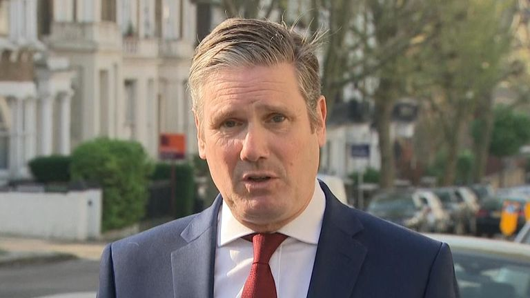 Sir Keir Starmer on Sophy Ridge on Sunday
