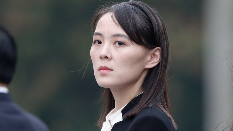 Kim Yo Jong, sister of North Korea's leader Kim Jong Un