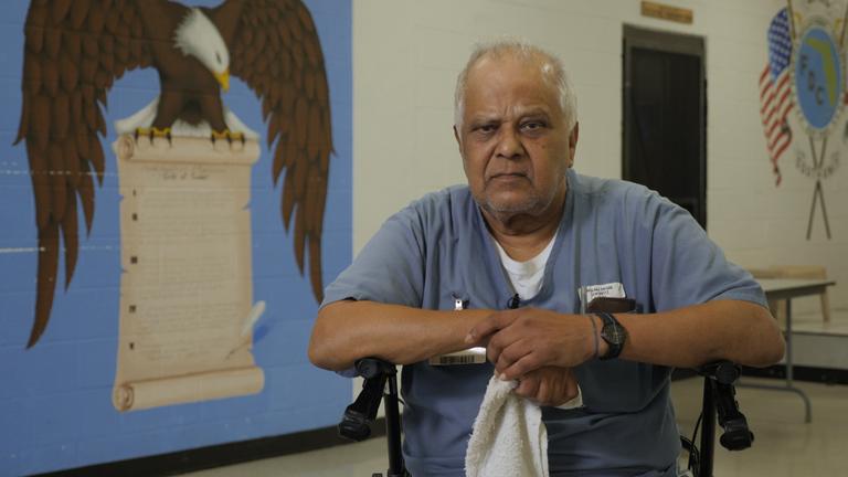 Kris Maharaj described life in prison as 'hell'