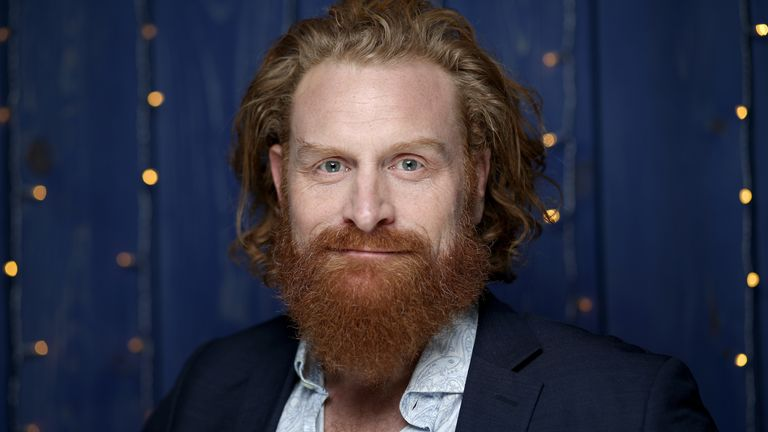 Kristofer Hivju of 'Downhill' attends the IMDb Studio at Acura Festival Village on location at the 2020 Sundance Film Festival – Day 2 on January 25, 2020 in Park City, Utah