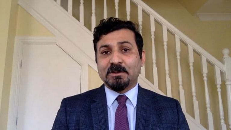Dr Muhammad Munir still from Bundock's VT