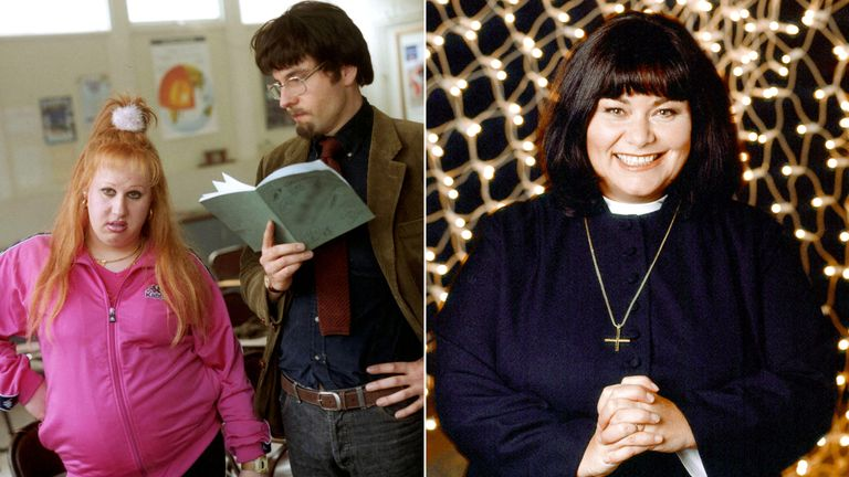 Little Britain and The Vicar of Dibley