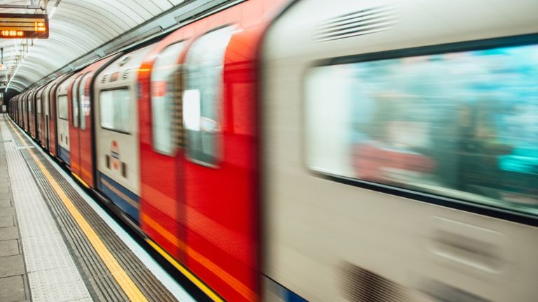 TFL's fleet of more than 600 Tube trains have all been cleaned with the new product