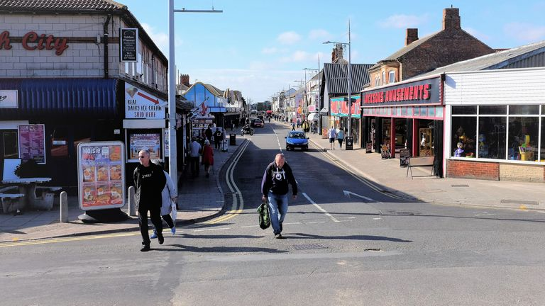 Mablethorpe in Lincolnshire will be heavily-impacted