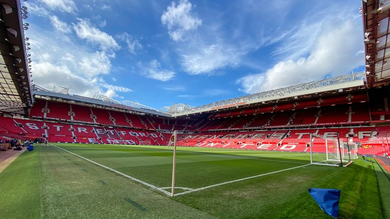 The barrier seating will be installed in the north east of the Old Trafford stadium
