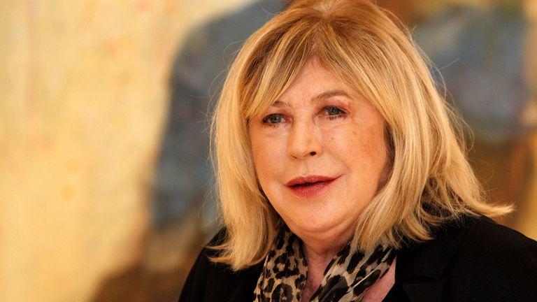 Marianne Faithful is being treated for coronavirus in hospital