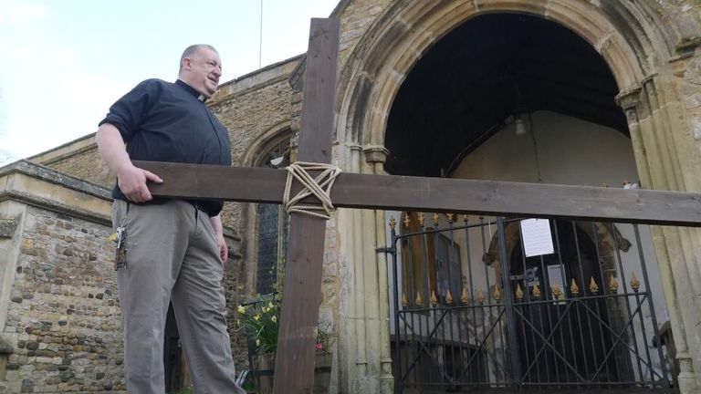 Vicar Mark Amey