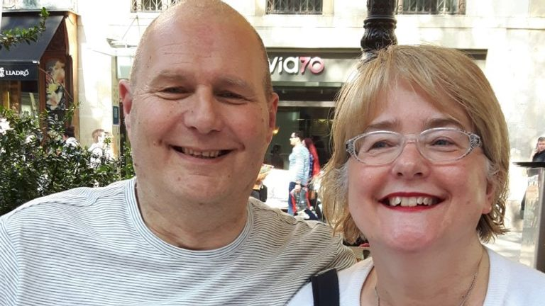 Martin and Jackie Ducksbury fear Martin's cancer could spread