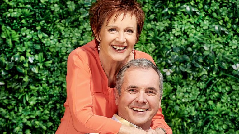 Alan Fletcher and Jackie Woodburne, aka Dr Karl and Susan Kennedy from Neighbours. Pic: FremantleMedia LTD