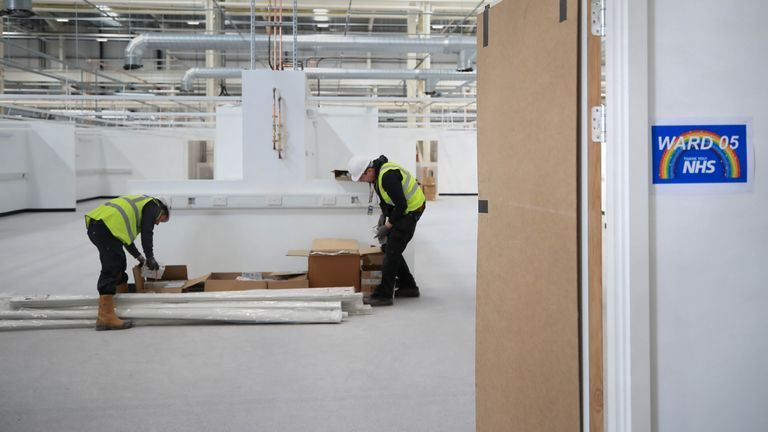 The facility will provide an extra 460-beds