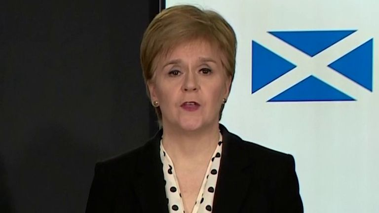 Nicola Sturgeon sends her best to Boris Johnson