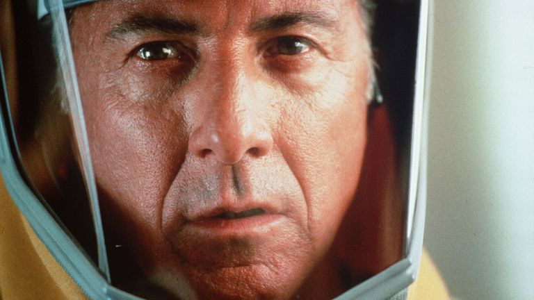 Pic: Warner Bros/Punch Prods/Kopelson/Kobal/Shutterstock  Outbreak - 1995 Dustin Hoffman  1995