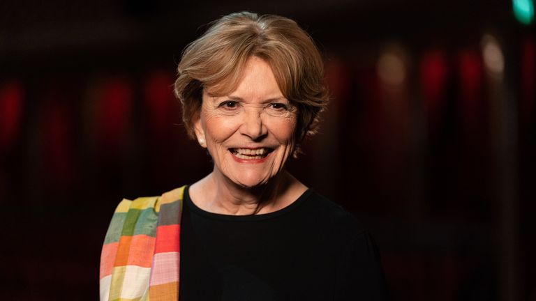 Portrait Artist Of The Year host Joan Bakewell