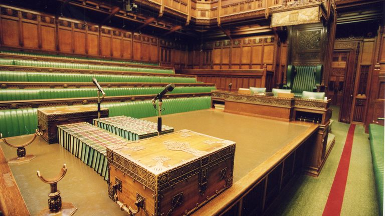 The Commons could lay empty for some time. Pic: UK Parliament