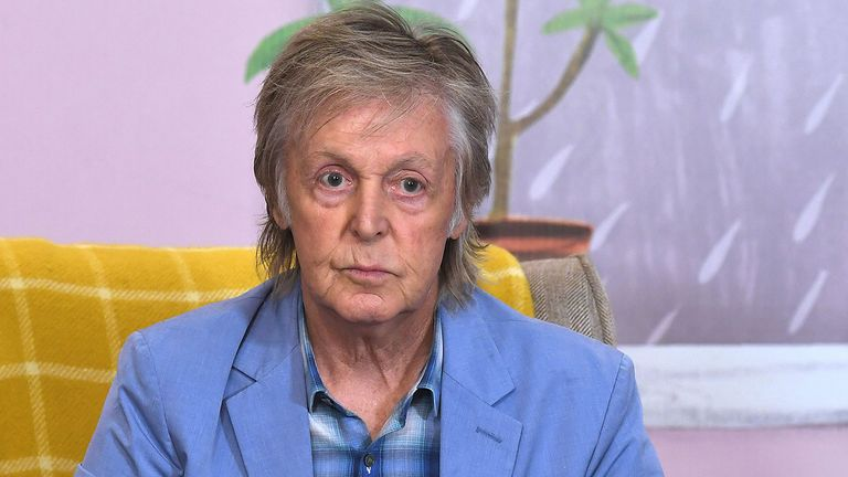 Sir Paul McCartney. Pic: Anthony Harvey/Shutterstock