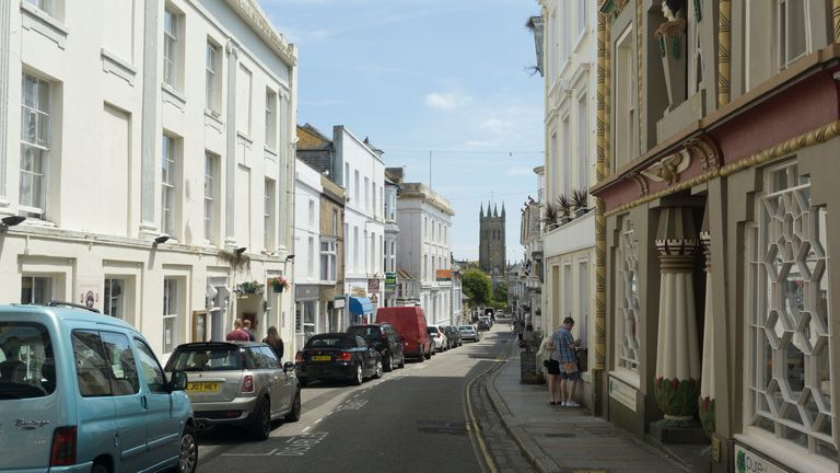 Penzance in Corwall will be one of the hardest-hit towns in the UK