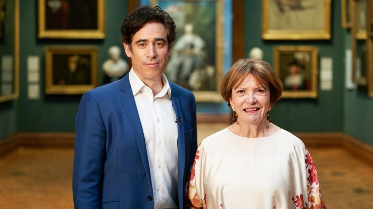 Stephen Mangan and Joan Bakewell host Portrait Artist of the Year